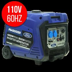 4000W Gasoline Silent Generator - 110V / 60Hz