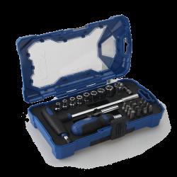 29pcs Ratchet screwdriver & t handle set