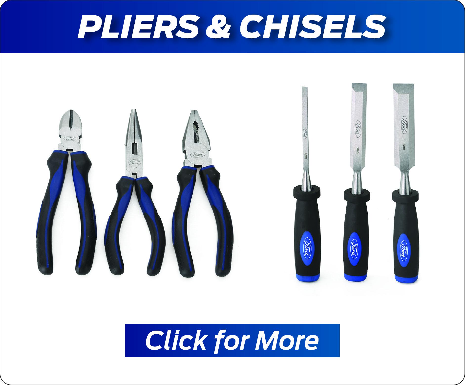 Pliers & Chisels